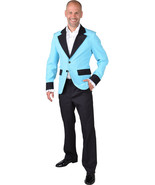 Show Jacket - Turquoise - Teddy Boy / Band  - XS-XXL - $34.20
