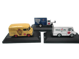 Coca-Cola Die-Cast Commemorative Trucks 1996, 1960, & 1956 Olympics - $31.68