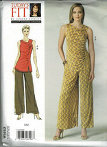 Vogue Pattern V1452 All Sizes Misses Top & Pants Designer Sandra Betzina... - $7.92