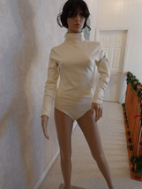 Headliners Ivory Colored Body Blouse (#0972)  - $20.99