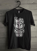 Hello Boba Fett Kitty Funny Star Wars Parody - Custom Men's T-Shirt (2851) - $19.13+