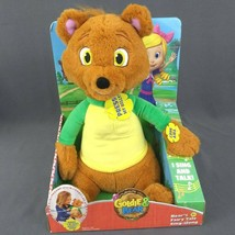 Goldie and Bear Disney Junior Talking Bear's Fairy Tale Sing Along Plush Toy New - $48.33
