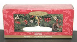 Hallmark Keepsake Ornament A Charlie Brown Christmas Snow Scene Tabletop... - $9.40