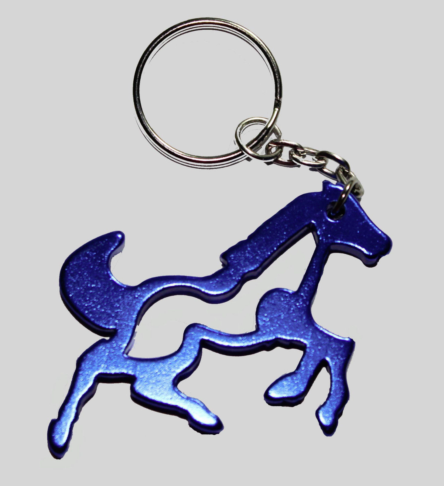 aluminum equine galloping horse key chain bottle opener choice of 5 colors key chains. Black Bedroom Furniture Sets. Home Design Ideas