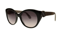 Marc By Marc Jacobs MMJ396 5EY Black Round Women's Sunglasses 54mm Authentic - $66.93