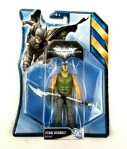 "Finial Assault Bane Dark Knight Rises 4"" Action Figure DC Universe Mattel NEW - $13.81"