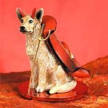 Australian Cattle Red Dog Devilish Pet Figurine - $14.99
