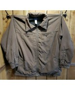 Patagonia Corduroy Fleece Lined Full Zip Jacket Men's Size XL Taupe w/Gr... - $68.51