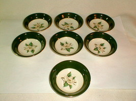 Homer laughlin lifetime china 6 berry dessert fruit bowl VG vintage - $20.00