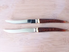 Sheffield Regal Crest Steak Knives Set of 2 Made in England - $14.51