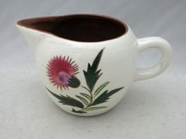 "Stangl Pottery - Thistle Pattern - Creamer - 3 1/8"" tall - EUC - $4.95"