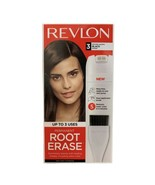 Revlon Root Erase Permanent Hair Color Root Touch-up Dye Black #3  NEW - $9.89