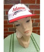 Vintage 1990s Atlanta Hawks Hat #1 Adjustable Unisex New w/Official NBA Tag - $22.75