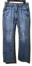American Eagle Men's Original Straight Destroyed Jeans Size 29W 32L - $296,03 MXN