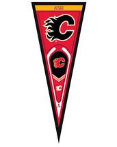 """Calgary Flames 13"""" x 33"""" Framed Pennant - $33.11"""