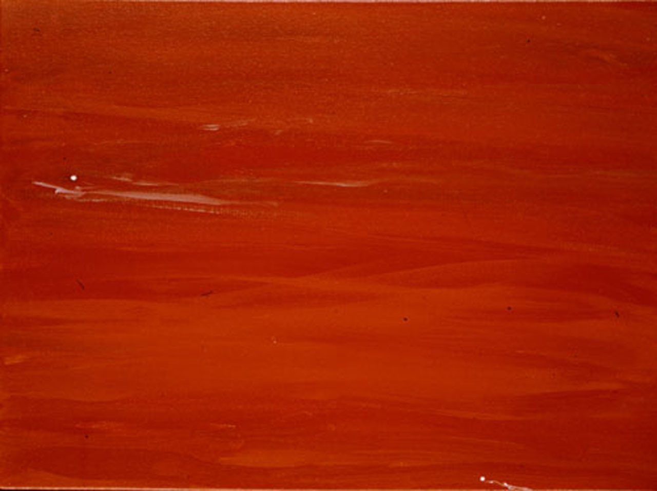 In The Golden Red Light (A Painting For Meditation)