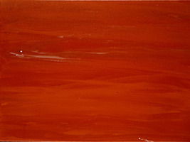 In The Golden Red Light (A Painting For Meditat... - $300.00