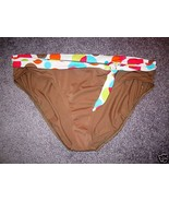 NWOT ZUMA BEACH SWIMWEAR HIGH WAIST BIKINI BOTTOM,SZ XL - $10.54