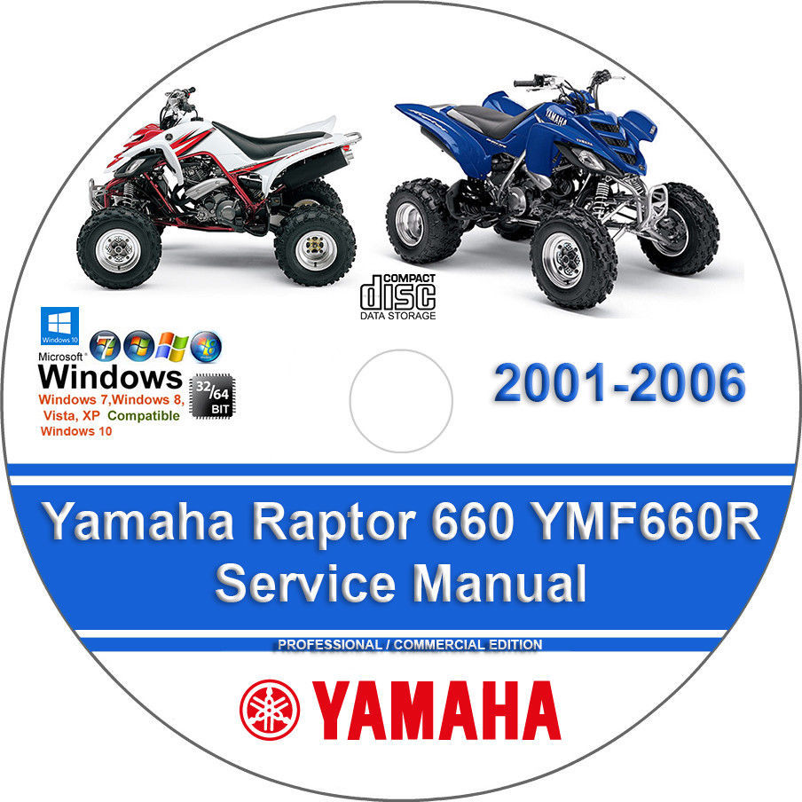 Yamaha Raptor 660 YMF660R 2001-2006 Factory and 50 similar items. 4
