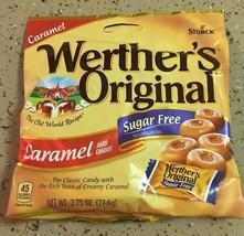 Werters Original Sugar Free Caramel Hard Candy 2.75oz - Pack Of 4 - $21.83
