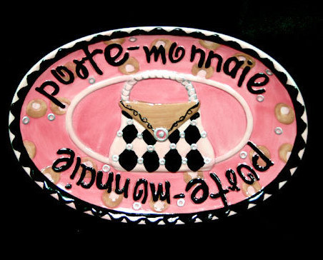 J plate purse