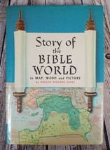 Story of The Bible World in Map, Word & Picture by Nelson Beecher Keyes ... - $16.78