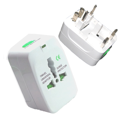 Universal Worldwide Travel Power Adapter Plug US UK EU
