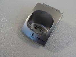 Panasonic Cordless Phone Charger Base Cradle Silver PQLV30013ZAS - $14.57