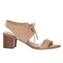 Michael Kors Women Block Heel Slingback Sandals Estela Mid US 10M Brown ... - $79.94