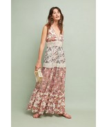 NWT ANTHROPOLOGIE CABARET FLORAL MAXI DRESS by RANNA GILL S - $170.99