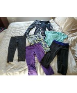 HUGE lot of 7:  4 Fabletics,  2VSX,  1 Altheta leggings Top Capri  size ... - $49.49