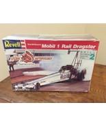 Revell 1:25 Model #7497 - Mongoose Tom McEwen's Mobil 1 Rail Dragster - ... - $49.95