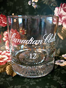 df509192b9bce Canadian Club Whisky Glass Classic Aged 12 and 50 similar items