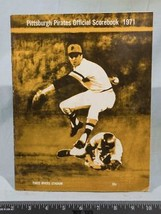 Vintage Pittsburgh Pirates 1972 Baseball Scorebook vs. Expos Clemente g25 - $9.89