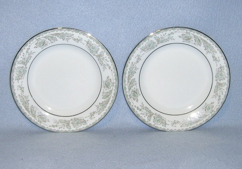 Noritake Belmont 5609  2 Bread and Butter Plates