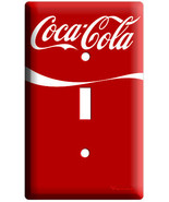 NEW RED VINTAGE COCA-COLA SINGLE RETRO LIGHT SWITCH COVER WALL PLATE ROO... - $8.99