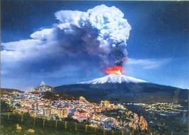 Clemontoni Etna 1000 pc Jigsaw Puzzle Sicily Volcano Italy Landscape  - $17.81