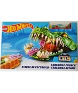 Hot Wheels Crocodile Crunch Play Set Car and Track Set Age 4+ NEW - $14.95
