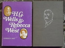 H. G. Wells & Rebecca West and H. G. Wells Prophet of Our Day Antonina V... - $6.00