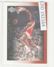 2000 Upper Deck Century Legends History Of The Dunk #52 Dominique Wilkins 192164 - $0.98