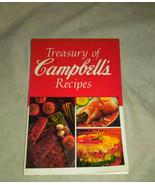 Treasury of Campbell's Recipes Cookbook - $9.95