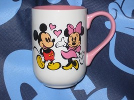 DISNEY PARKS MINNIE & MICKEY MOUSE COFFEE CUP.  BRAND NEW. - $19.57