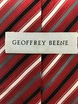 "NEW Geoffrey Beene 100% Silk Necktie Tie 59"" x 3-1/4""Handmade #235 image 3"