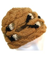 Do it up Brown Hand Knit Hat - $29.50