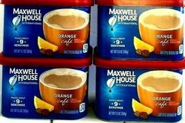 Maxwell House International Orange Cafe Style Beverage Mix 9.3 oz ( Pack... - $22.76