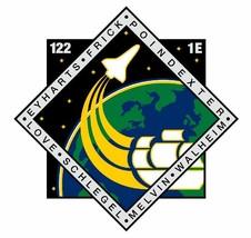 STS-122 Nasa Atlantis Sticker M577 Space Program - $1.45+