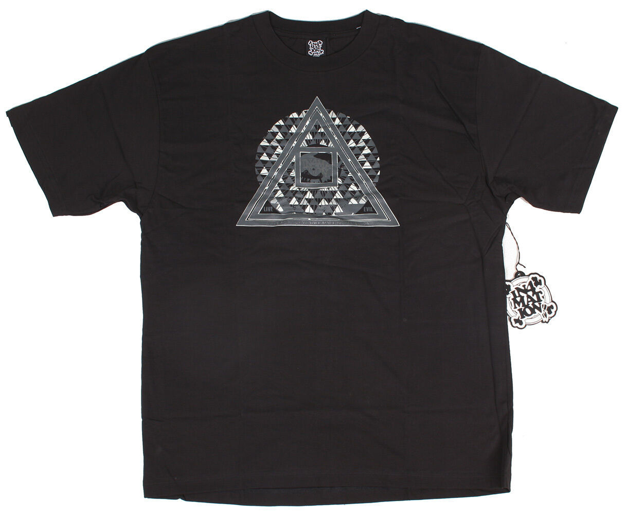 In4mation Hawaii Mens Black or White Live Evil Eye for an eye NWT