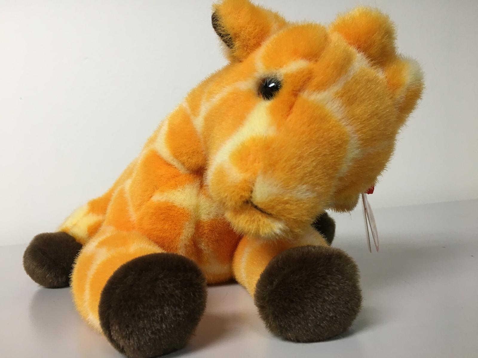 TY Beanie Buddy 1st Buddy to Retire TWIGS the Giraffe Rare!
