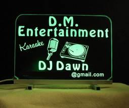Personalized DJ Karaoke LED Bar Sign  image 4