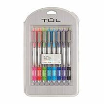 TUL Retractable Gel Pens, Bullet Point, 0.5 mm, Gray Barrel, Assorted Br... - $23.49